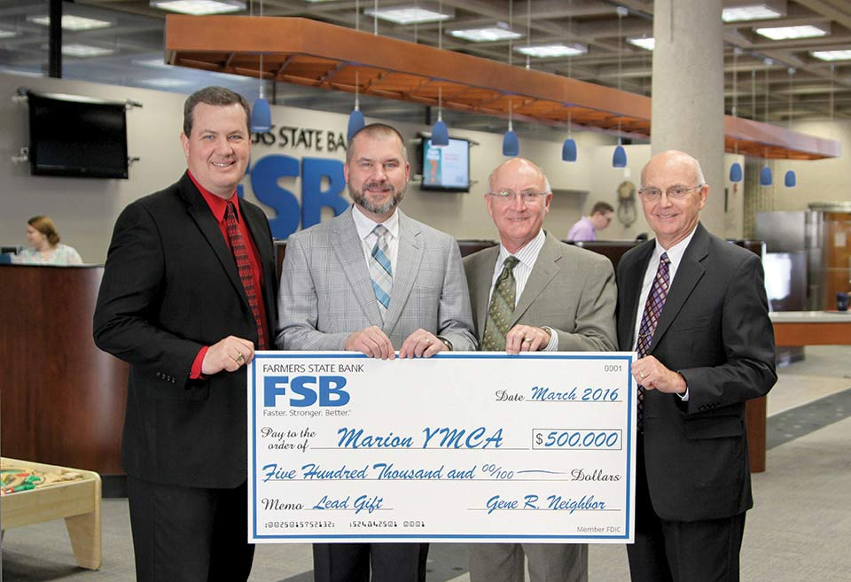 YMCA Big Check Photo