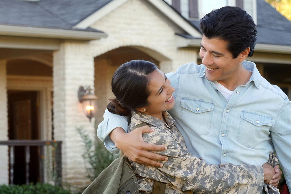 VA Loans couple